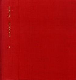 Marie Jean Antoine de Condorcet: Oeuvres