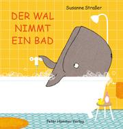 Der Wal nimmt ein Bad