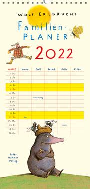 Wolf Erlbruchs Familienplaner 2022