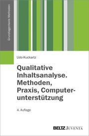 Qualitative Inhaltsanalyse. Methoden, Praxis, Computerunterstützung - Cover