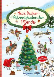 Mein Sticker-Adventskalender - Pferde