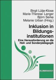 Inklusion in Bildungsinstitutionen