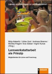 Lernwerkstattarbeit als Prinzip - Cover