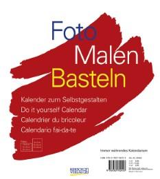 Foto, Malen, Basteln - Geburtstagskalender Weiß
