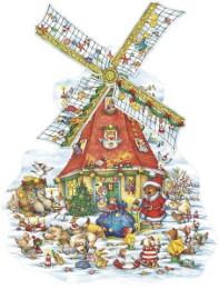 Weihnachten an der Windmühle