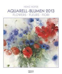 Aquarell-Blumen 2013