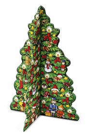 Buntes Weihnachtsbäumchen