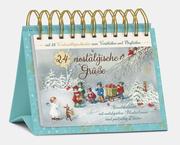 Tisch-Adventskalender '24 nostalgische Grüße'