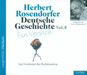 Deutsche Geschichte - Am Vorabend der Reformation