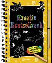 Kreativ-Kratzelbuch: Dinos