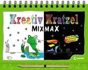 Kreativ-Kratzel MIX MAX - Tiere