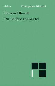 Die Analyse des Geistes