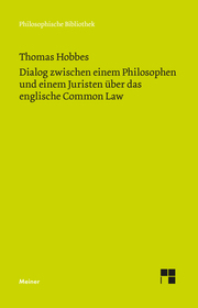 Dialog zwischen einem Philosophen und einem Juristen über das englische Common Law