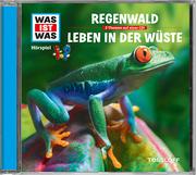 Der Regenwald/Wüsten - Cover