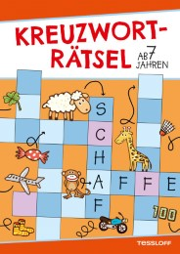 Kreuzworträtsel ab 7 Jahren (Rot/Schaf)