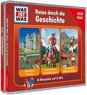 3-CD Hörspielbox - Reise durch die Geschichte