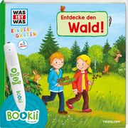 BOOKii WAS IST WAS Kindergarten - Entdecke den Wald
