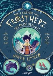 Die Legende von Frostherz - Die Reise beginnt - Cover