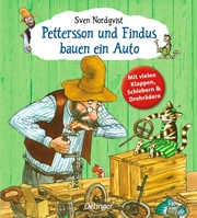 Pettersson und Findus bauen ein Auto - Cover