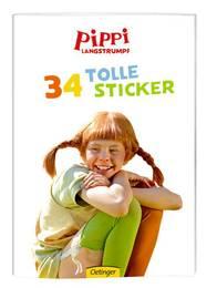 Stickerheft 'Pippi Langstrumpf'