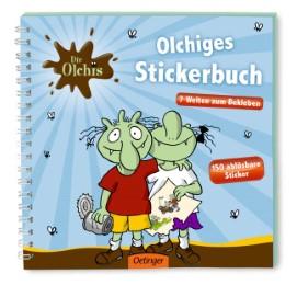 Die Olchis - Olchiges Stickerbuch