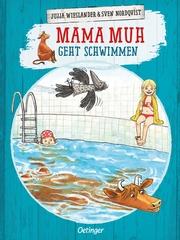Mama Muh geht schwimmen - Cover