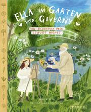 Ella im Garten von Giverny