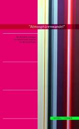 'Atmosphärenwandel'