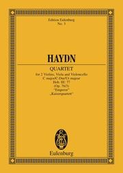 String Quartet C major, Emperor