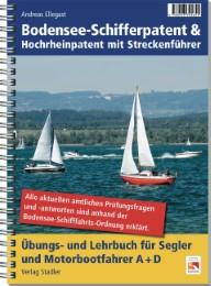 Bodensee-Schifferpatent und Hochrhein-Patent mit Streckenführer