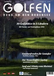 Golfen rund um den Bodensee
