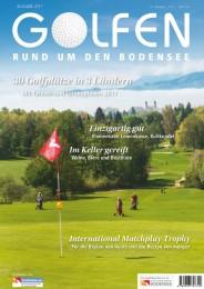 Golfen rund um den Bodensee 2017