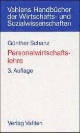 Personalwirtschaftslehre - Cover