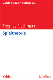 Spieltheorie - Cover