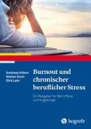 Burnout und chronischer beruflicher Stress - Cover