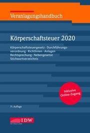 Veranlagungshandbuch Körperschaftsteuer 2020