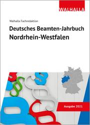 Deutsches Beamten-Jahrbuch Nordrhein-Westfalen 2021 - Cover
