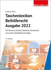 Taschenlexikon Beihilferecht Ausgabe 2022