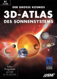 Der große Kosmos 3D-Atlas des Sonnensystems (DVD-ROM)