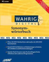 Wahrig Digital: Synonymwörterbuch