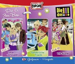 Die drei !!! Die 6. 3er-Box - Cover