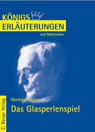 Erläuterungen zu Hermann Hesse: Das Glasperlenspiel