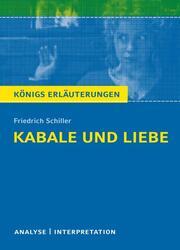 Kabale und Liebe von Friedrich Schiller
