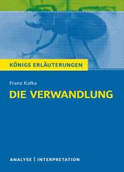 Die Verwandlung von Franz Kafka.