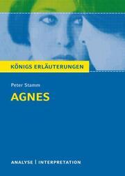 Textanalyse und Interpretation zu Peter Stamm: Agnes