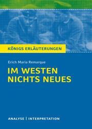 Im Westen nichts Neues von Erich Maria Remarque.
