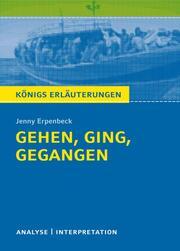 Königs Erläuterungen: Gehen, ging, gegangen von Jenny Erpenbeck.