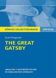 The Great Gatsby von F. Scott Fitzgerald.