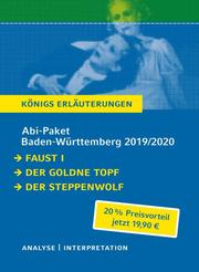 Abitur Baden-Württemberg 2019 & 2020 - Königs Erläuterungen Paket