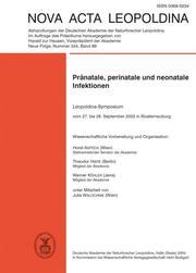 Pränatale, perinatale und neonatale Infektionen